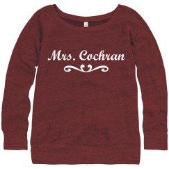Mrs. Cochran Sweatshirt