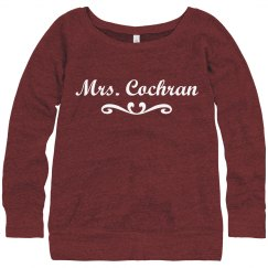Mrs. Cochran Sweatshirt