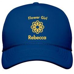 Flower Girl Trucker Hat