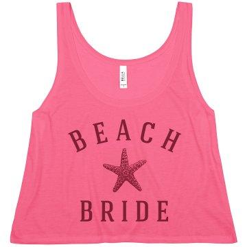 A Trendy Beach Bride