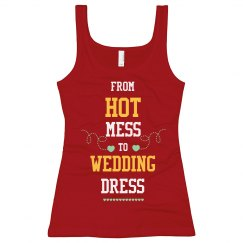 From Hot Mess To Wedding Dress