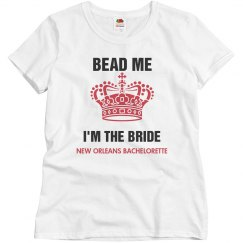 Bead Me I am the Bride Mardi Gras Bachelorette