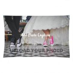 Custom Wedding Photo Pillowcase Gift