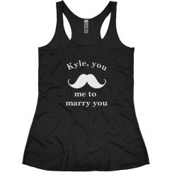 Mustache Me Tank