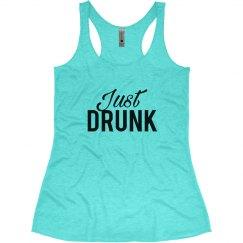 Just Drunk Bachelorette Tank Tops Drunk In Love Theme