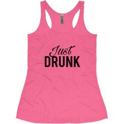 Just Drunk Bachelorette Tank Tops Drunk In Love Theme