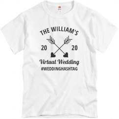 Create Tees for your Virtual Wedding