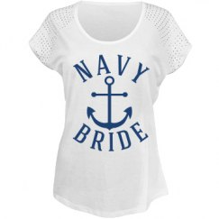 Navy Bride shirt.