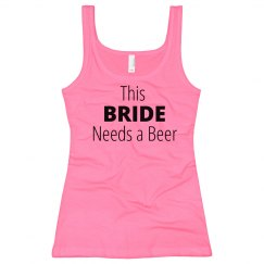 This Bride Needs a Beer