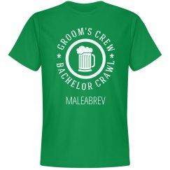 The Grooms Brew Crew Maleabrev