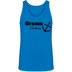 Nautical Groom Tank Top