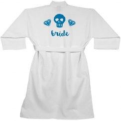 skull bride robe