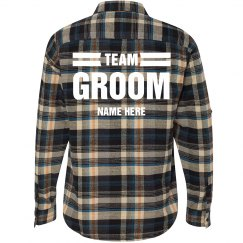 Team Groom Plaid
