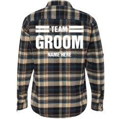 Team Groom Plaid