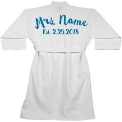Future Bride Custom Spa Robe
