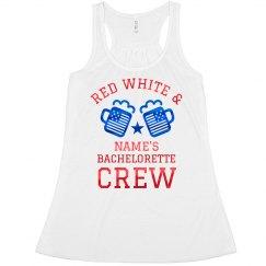 Red White & Bride Custom Tank