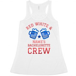 Red White & Bride Custom Tank