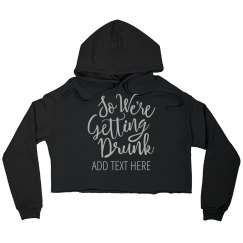 Getting Drunk Trendy Bridal Party