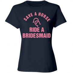 Ride a Bridesmaid