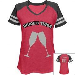 Softball Jersey- Bride's Tribe