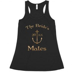 Gold Anchor Bride's Mates