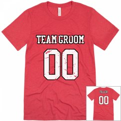 Team Groom w/Back