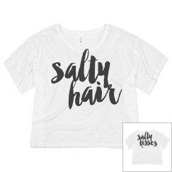 Trendy Bride Salty Hair