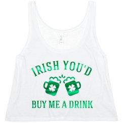 Metallic Irish You'd Buy Me A Drink