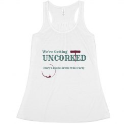 We're Getting Uncorked Tank