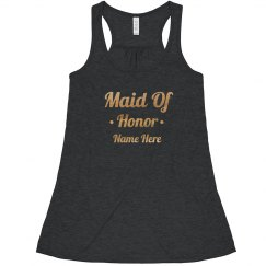 Gold Maid Of Honor Script