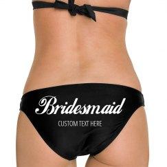 Custom Bridesmaid Script Bikini