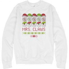 MR. & MRS. CLAWS XMAS UGLY SWEATER