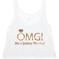 OMG She's Getting Married
