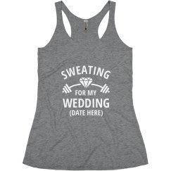 Custom Sweating for My Wedding