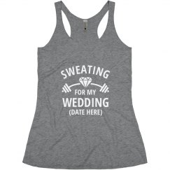 Custom Sweating for My Wedding