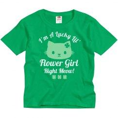 Lucky Flower Girl Right Meow