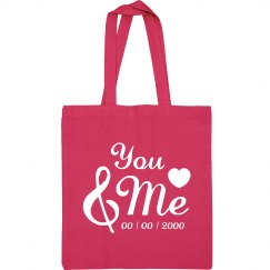 Custom Just Married You And Me