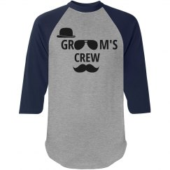 Groom's Crew Bachelor Party Shirt