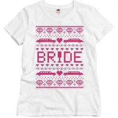 Bride Ugly Xmas Tee