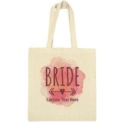 Custom Watercolor Bride