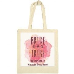 Bride Tribe Bridesmaid Watercolor