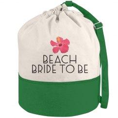 Flower Beach Bride