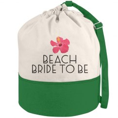 Flower Beach Bride