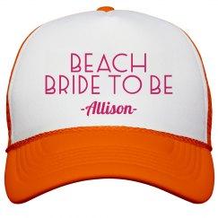 Neon Beach Bride
