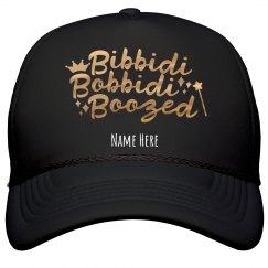 Metallic Bibbidi Bobbidi Boozed Hat