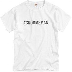 Hashtag Groomsman