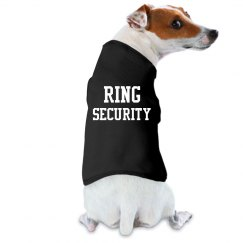 Ring Security Dog Shirt