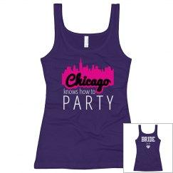 Brides Party In Chicago