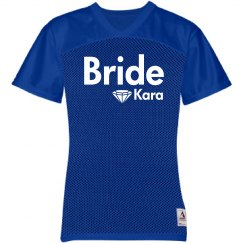 Bride Jersey with Diamond