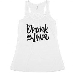 Bride Is Drunk In Love Bachelorette Humor